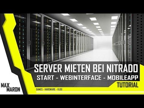 Ausprobiert - Nitrado Hosting - Webinterface und App