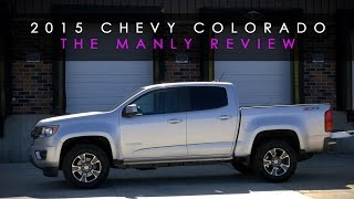 Review 2015 Chevy Colorado Becoming a Man