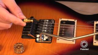 Hollow Point Intonation System Installation for Double Locking Tremolos