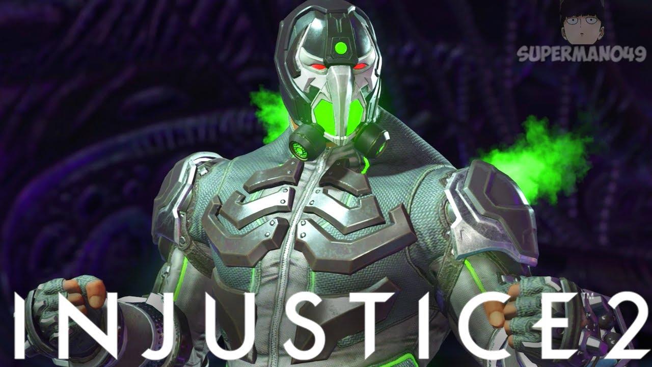 """The Legendary 858 Damage Bane Combo! - Injustice 2: """"Bane"""" Battle Simulator On Very Hard"""