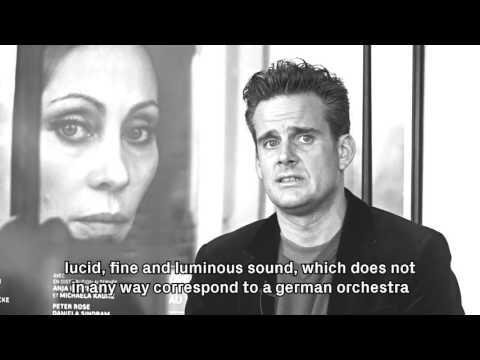 Philippe Jordan in interview – Swiss Music Prize 2016