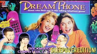 Dream Phone Gameplay - Backward Compatible's Sleepover!