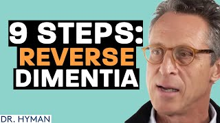 Nine steps to reverse dementia and memory loss as you age