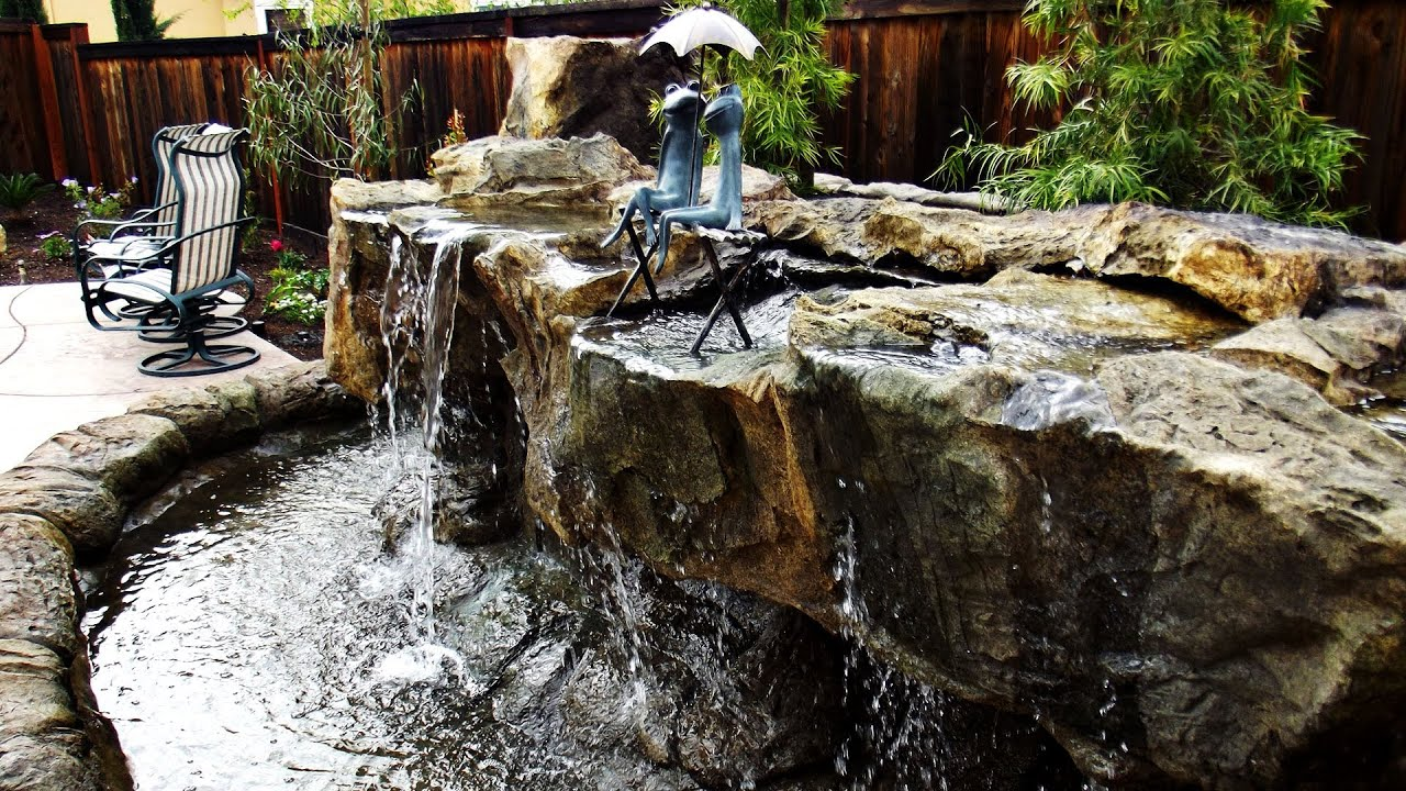 backyard waterfalls brentwood ca 925 437 4828 california