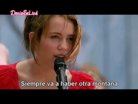 Miley Cyrus - The Climb (En Español) HQ