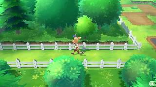 How To Cut Down Trees In Pokemon Let's Go Pikachu & Eevee