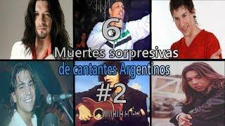 6 Muertes SORPRESIVAS de cantantes ARGENTINOS #2 | Gnosis