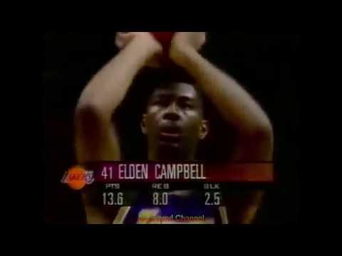 NBA Duels: Elden Campbell 20 Pts 9 Blk!! Vs. Joe Smith 28 Pts, 1995-96.