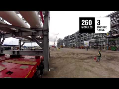Bechtel Curtis Island Projects Overview