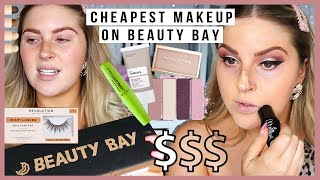 full face of the CHEAPEST MAKEUP on BEAUTY BAY!