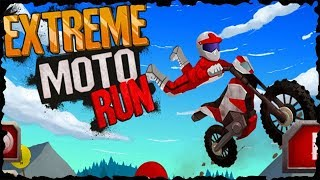 Extreme Moto Run Full Game Walkthrough All Levels