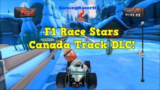 F1 Race Stars - Canada Track DLC Gameplay! (1080p HD)