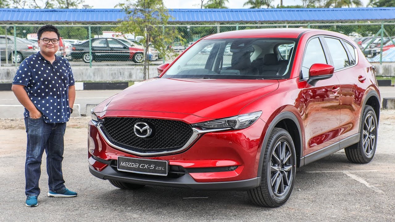 first look: 2017 mazda cx-5 (2nd gen) in malaysia - youtube