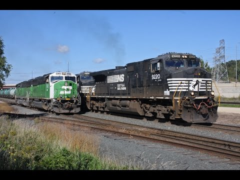 Trains around the Twin Cities #7, BN Cascade SD60M's, Late 8's, CP SD40-2 leader