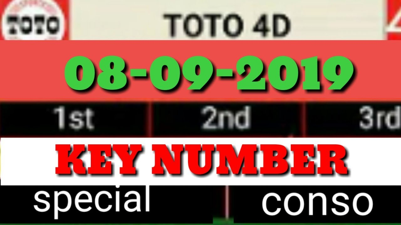 RAMALAN TOTO 4D HARI INI O8 09 2019 toto_4d_lucky_number_today magnum  4d Damacai 4d