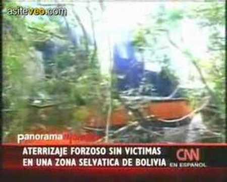 Aterrisaje Forzoso En Plena Selva Boliviana