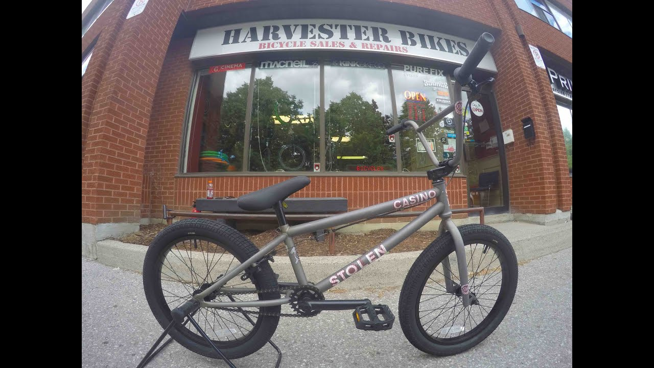 2016 Stolen Casino 20 Bmx Unboxing Harvester Bikes Youtube