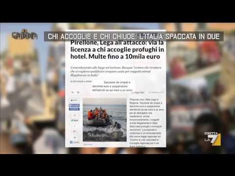 Chi accoglie e chi chiude: l'Italia spaccata in due
