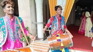 Great Punjab Bhangra Group mob 9892898994 MaMera welcome Punjabi Dhol at Ghatkopar#