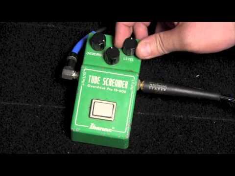 Original Ibanez TS-808 Tube Screamer Pedal Demo