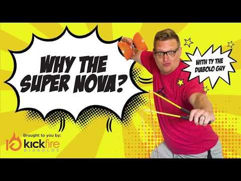 Why Buy the Super Nova? | KickFire Diabolos | Diabolo Tricks | Chinese YoYo Tricks