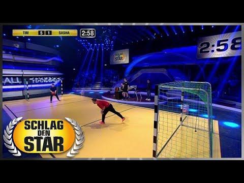 Spiel 8 - Handball - Schlag den Star