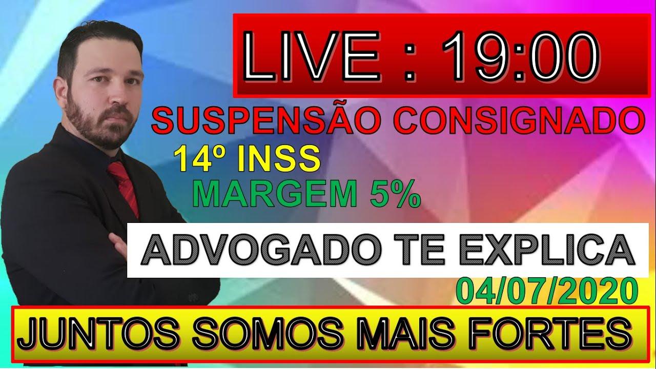 LIVE DR. SANDRO - 14º DO INSS.