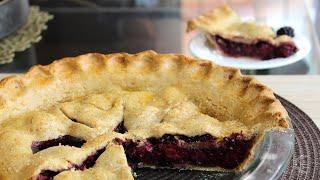 Homemade Blackberry Pie Recipe  The Sweetest Journey