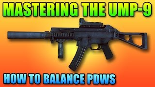 Mastering The Ump-9 & How To Fix PDWs | Battlefield 4 PDW Gameplay