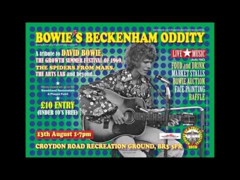 Phil Lancaster on Channel Radio talks about  Bowie's Beckenham Oddity