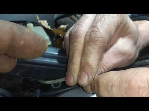 Мерс w220 упала пневма,неделя шока, ремонт пневмо провода. Merce w220 dropped pneuma, a week of shoc