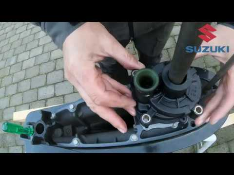 Suzuki DF140 – how to replace the impeller