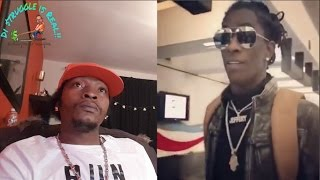 Rapper Young Thug  Disgrace Airline Workers