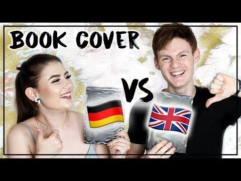 BOOK COVER 😱 Deutsch 🇩🇪 VS Englisch 🇬🇧 | 10 Buch Cover im Vergleich mit NICO