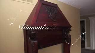 How I Made An Old Wood Fire Place Mantle Look New By Re Staining