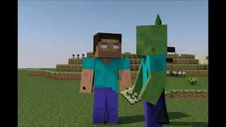 Monster school: Breaking Bedrock -Minecraft Animation (Animation Dump)