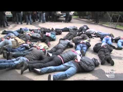 In Eastern Ukraine,