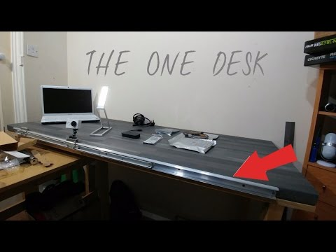 Project Geek Desk - A Custom PC Table Build