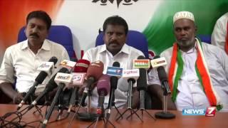 Palayamkottai DMK cadres protest against TPM Mohideen Khan | News7 Tamil
