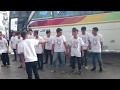 Klakson Telolet Bus Sinar Jaya Membuat Goyang Terminal Pulogebang video