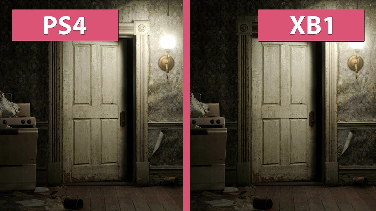Xbox One Graphics Comparison - YouTube & Resident Evil 7 \u2013 PS4 vs. Xbox One Graphics Comparison - YouTube