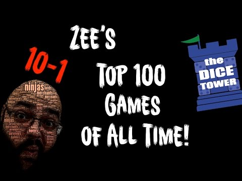 Zees Top 100 Games of All Time - 10 to 1