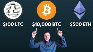 Crypto CRUSHES - $11k BTC, $500 ETH, $100 LTC
