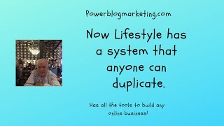 Now Lifestyle has a system that anyone can duplicate.