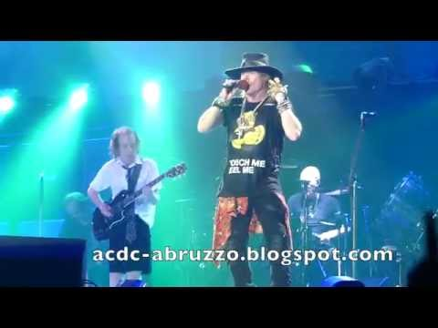 AC/DC and AXL ROSE - TOUCH TOO MUCH - Düsseldorf 15 June 2016