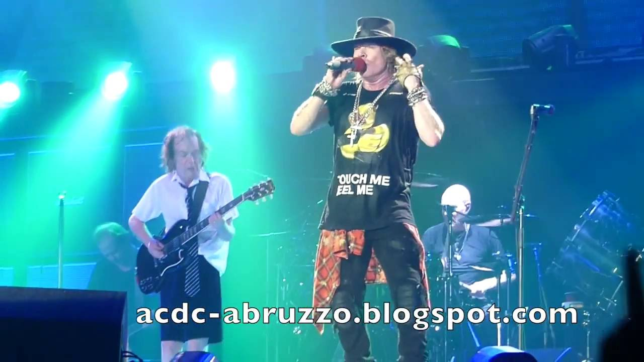 AC/DC and AXL ROSE - TOUCH TOO MUCH - Düsseldorf 15 June 2016 - YouTube