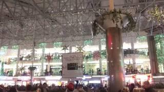 Cool light show in Quail Springs Mall OKC OK