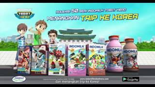 Indomilk Tobot Hero Download dan Menangkan Trip ke Korea