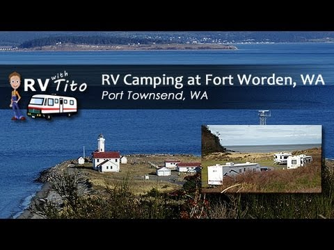 RV Camping at Fort Worden