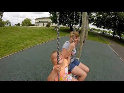 Claudelands Park - Family bicycle trip